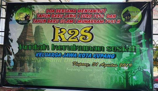 Malam Doa dan Syukur menyambut tahun baru Islam 1 Muharram 1441 H dan tahun baru Jawa 1 Suro 1953 Saka