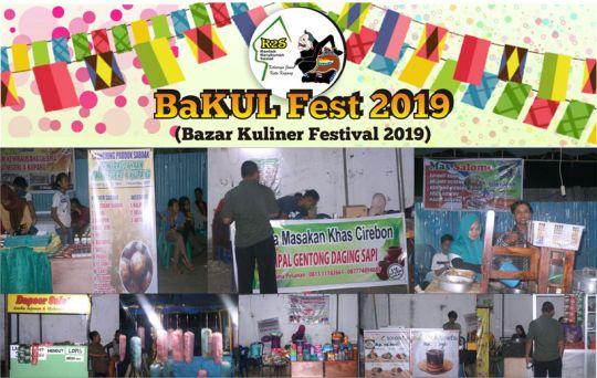 Kegiatan BaKUL Bazaar Kuliner Festival 2019