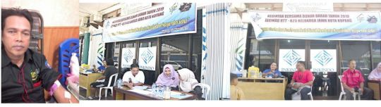 Kegiatan Donor Darah Bersama K2S Kota Kupang dan INKINDO NTT